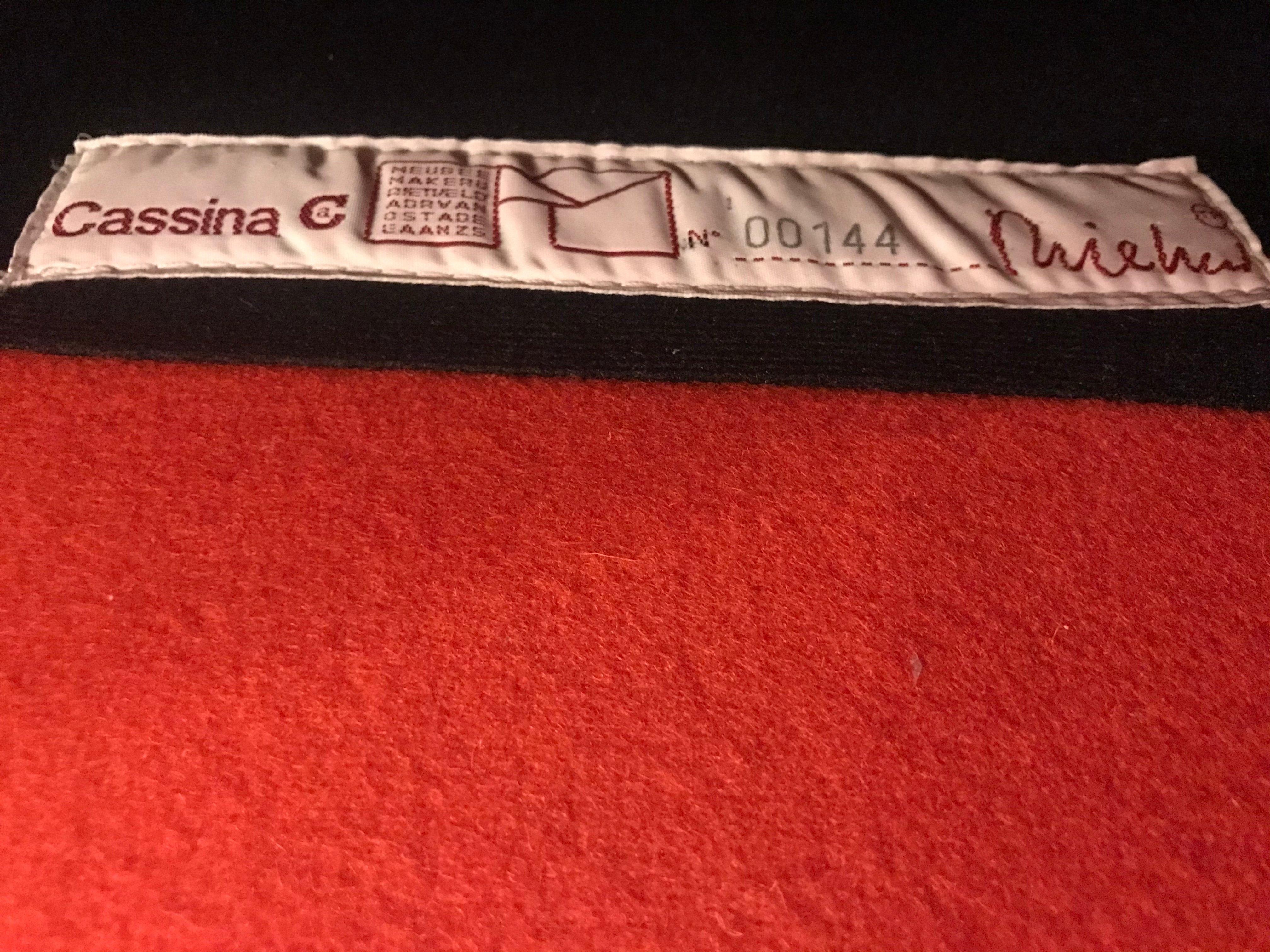 REDELÉ design Gerrit Thomas Rietveld original Cassina icon Made in Italy