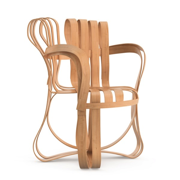 CROSS CHECK armchair design Frank Gehry original Knoll