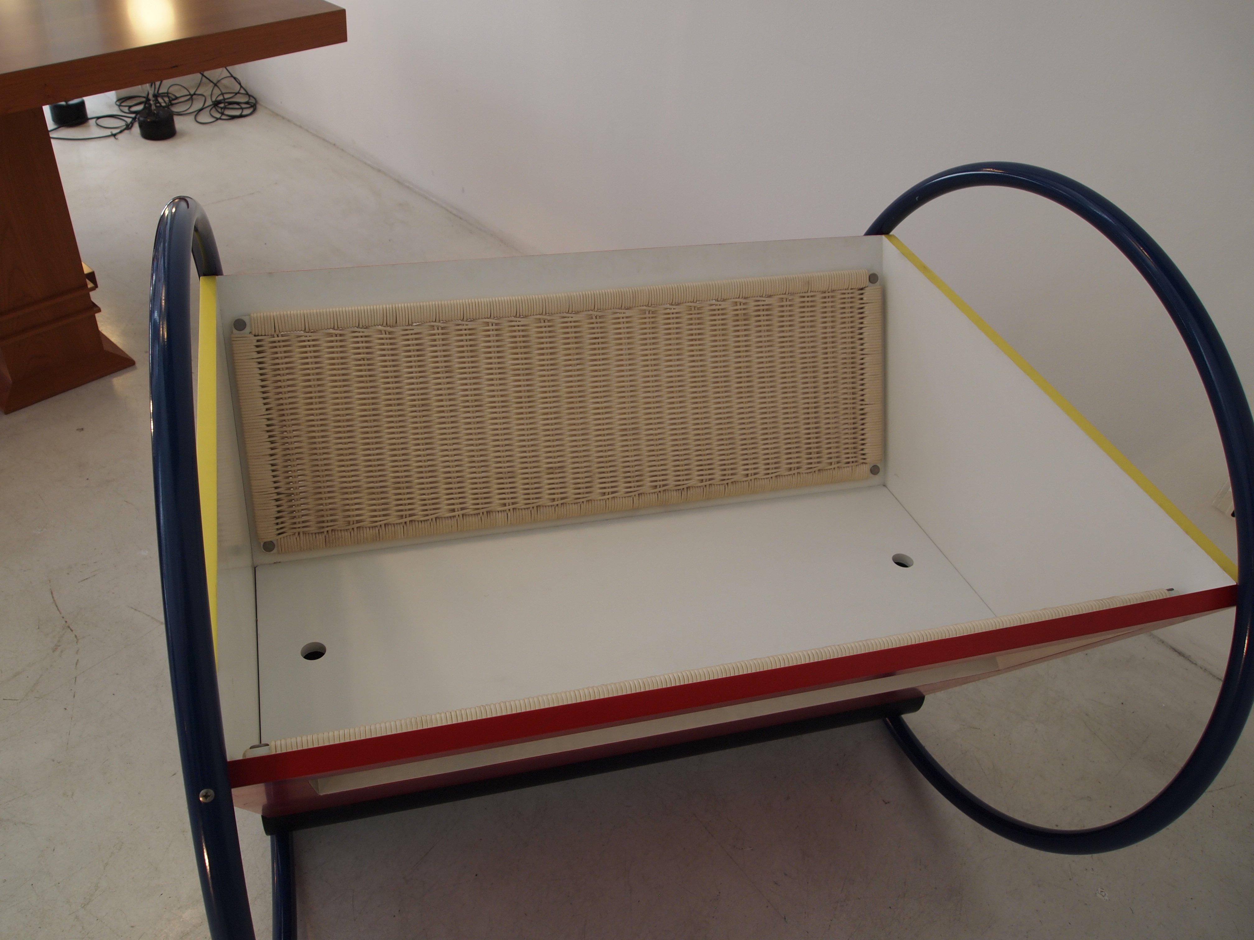 Culla cradle Bauhaus design Kandinsky- Peter Keler original Tecta