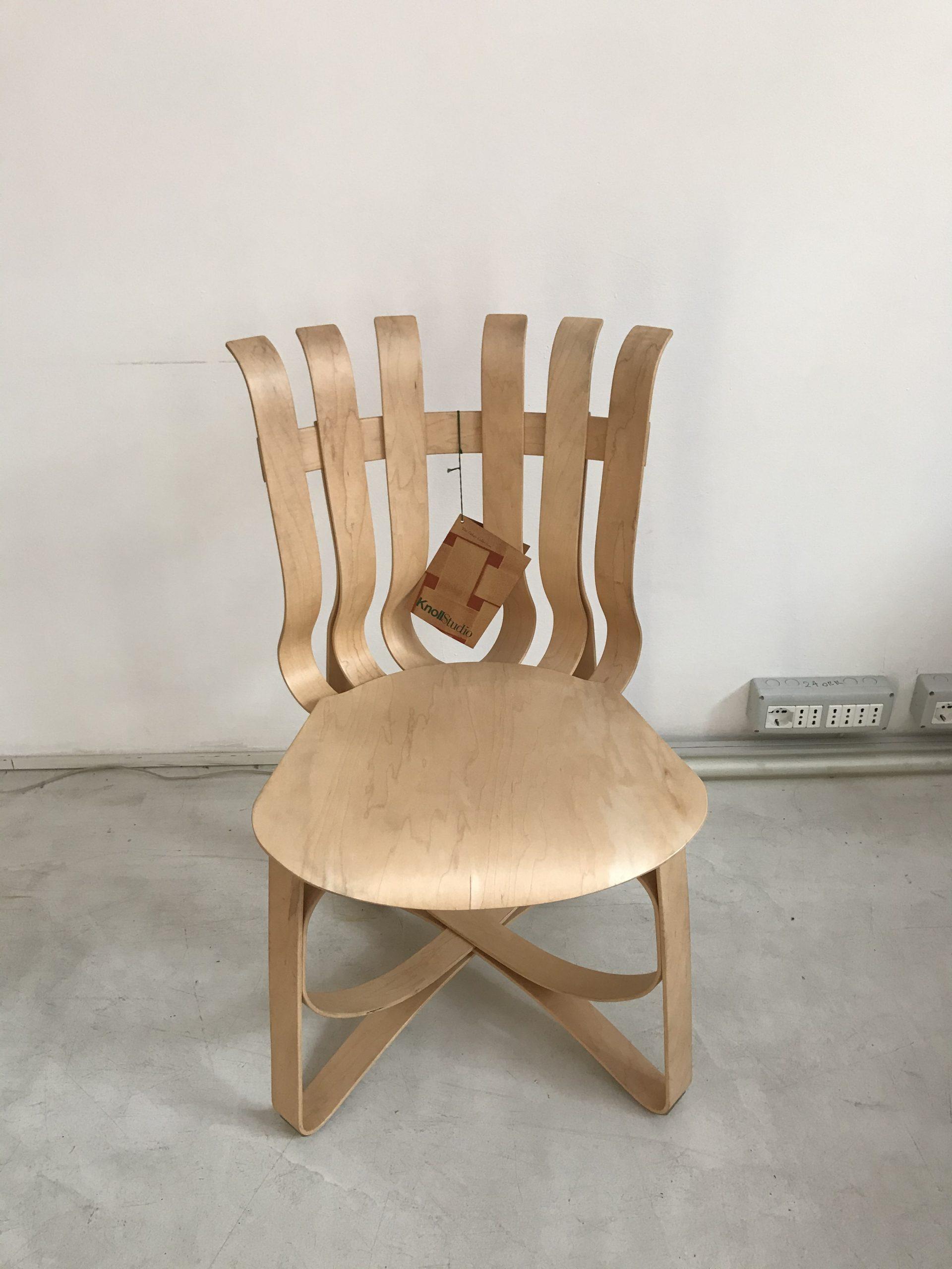 椅子设计Frank Gehry Knoll帽子戏法