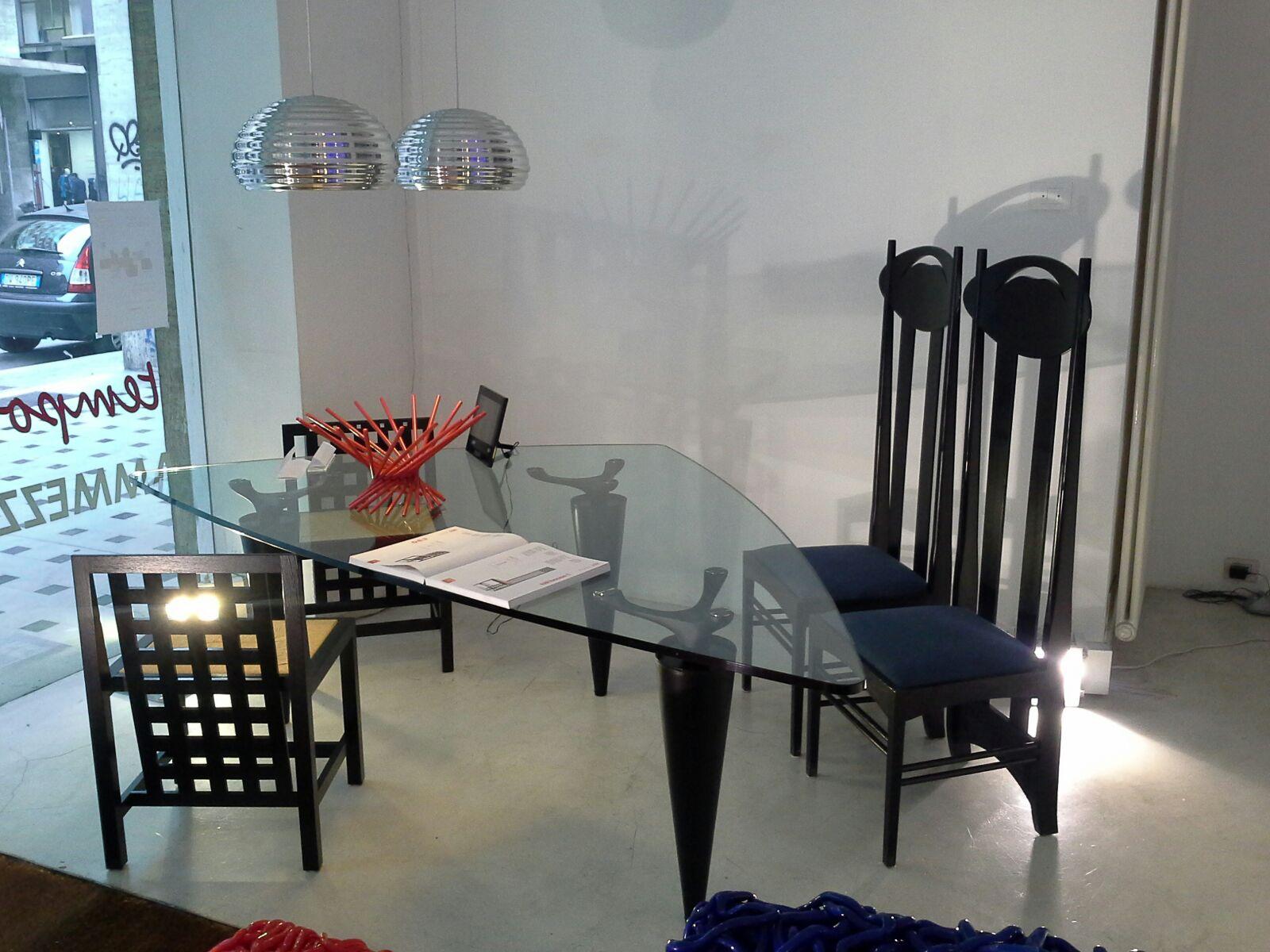 Mackintosh Cassina chair Argyle design Made in Italy