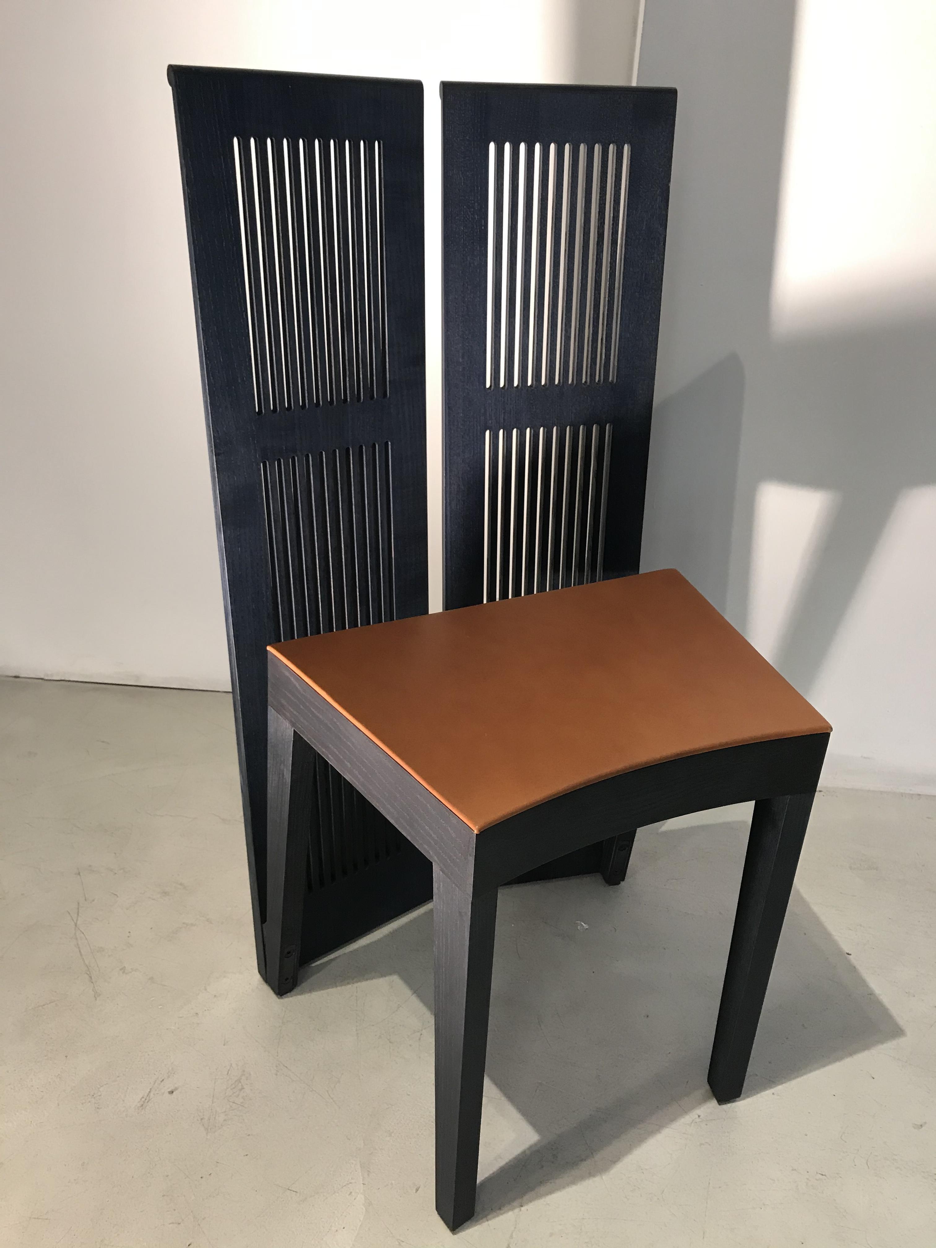 LUBEKKA chair design Andrea Branzi original Cassina Made in Italy