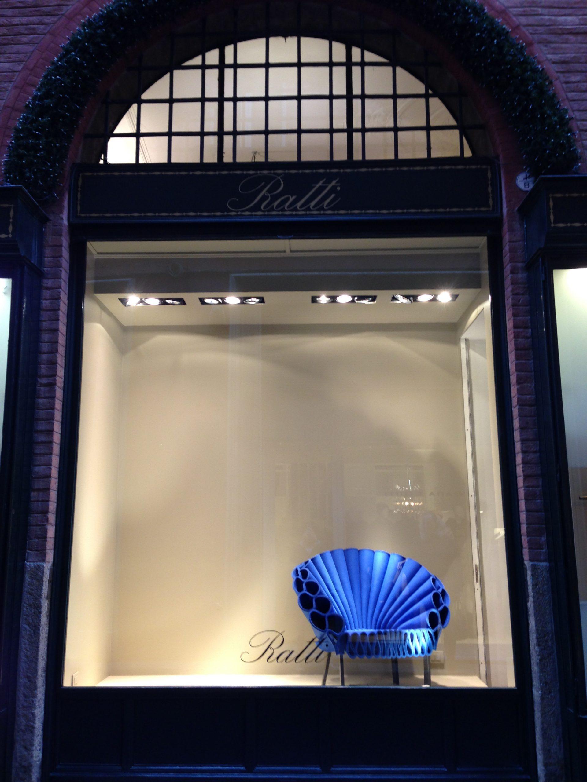 Armchair Peacock Cappellini design studio Dror Made in Italy