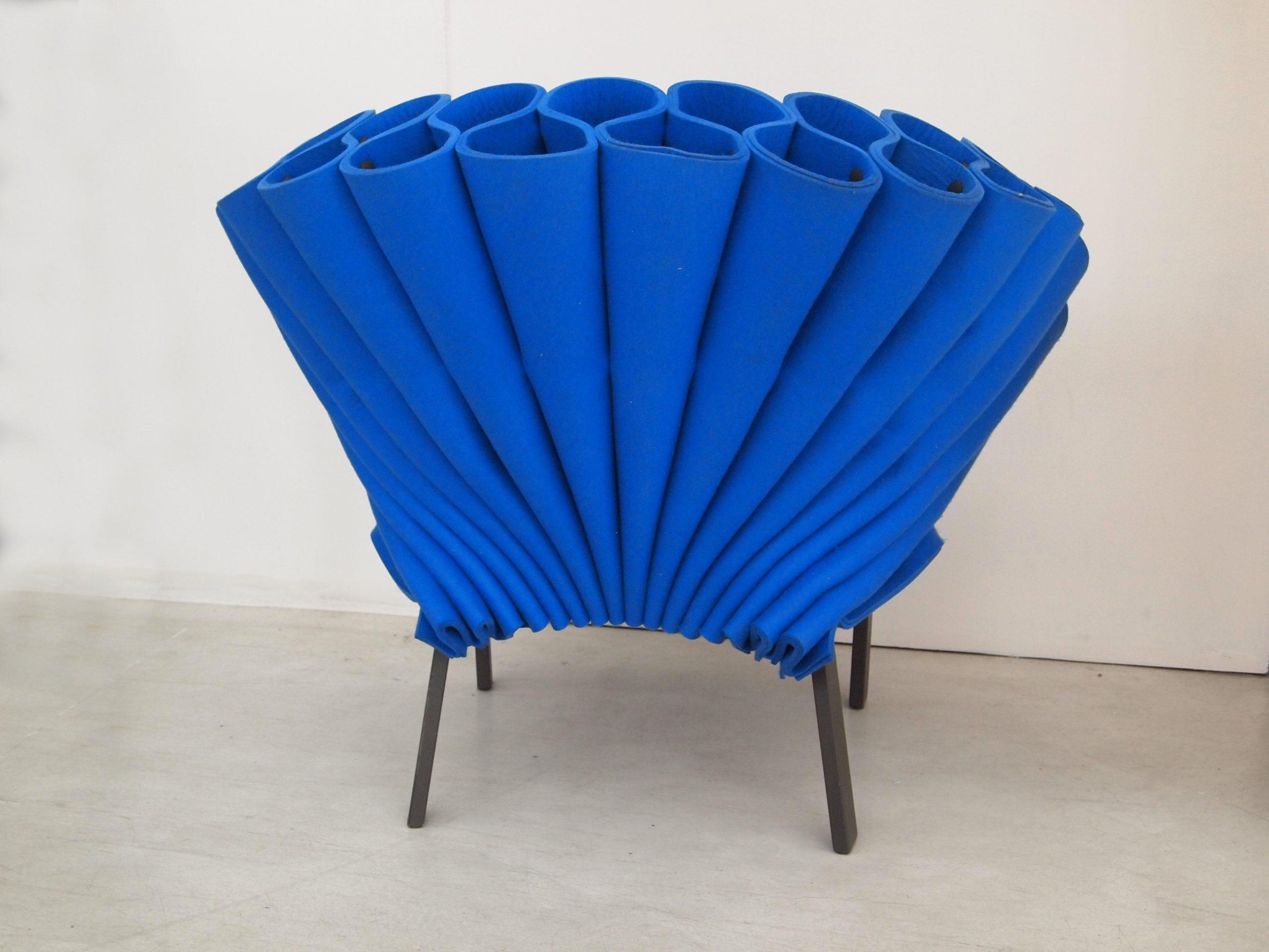 扶手椅孔雀Cappellini设计工作室Dror 意大利制造