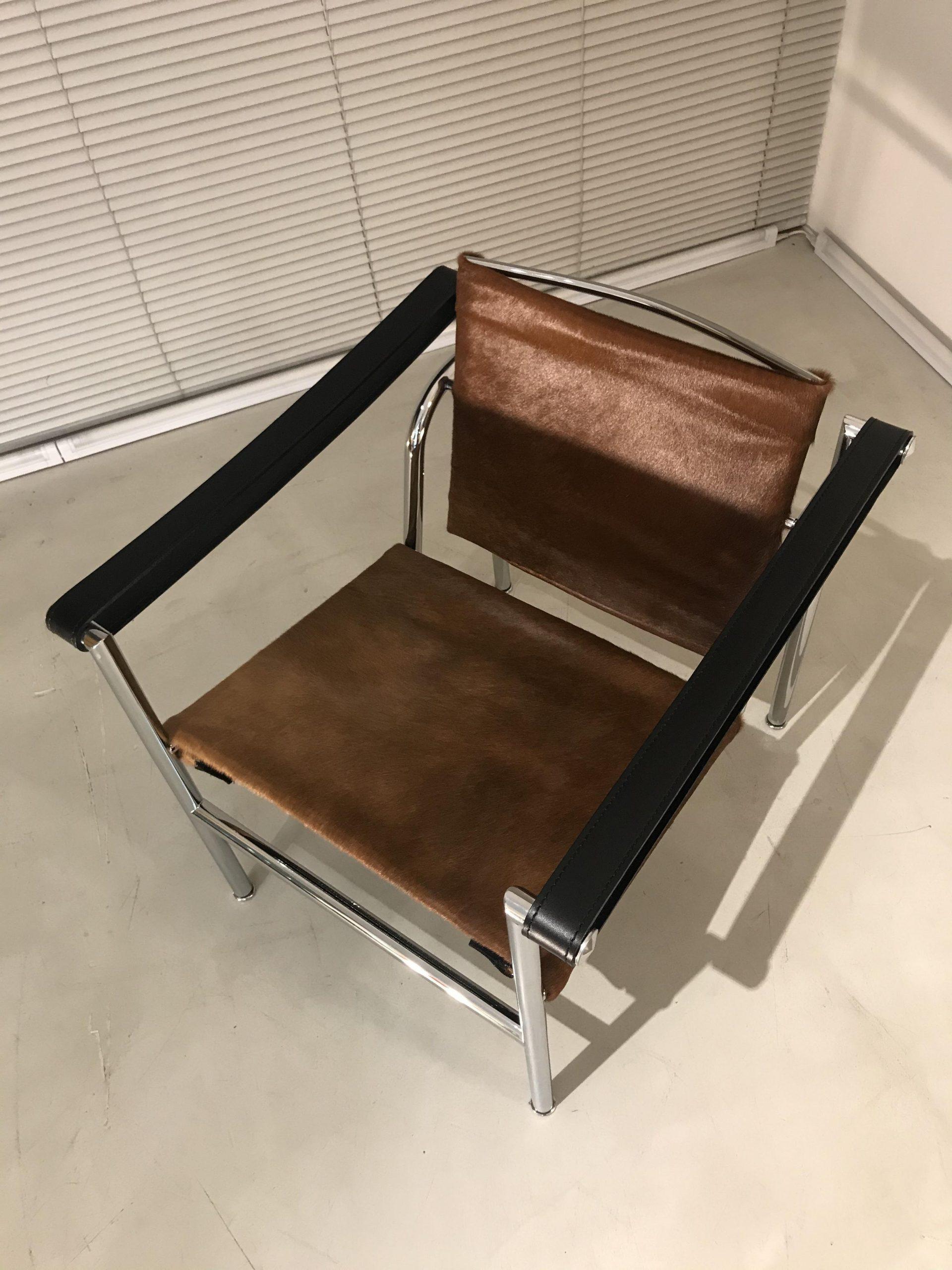 Cassina Le Corbusier original LC1 design Made in Italy