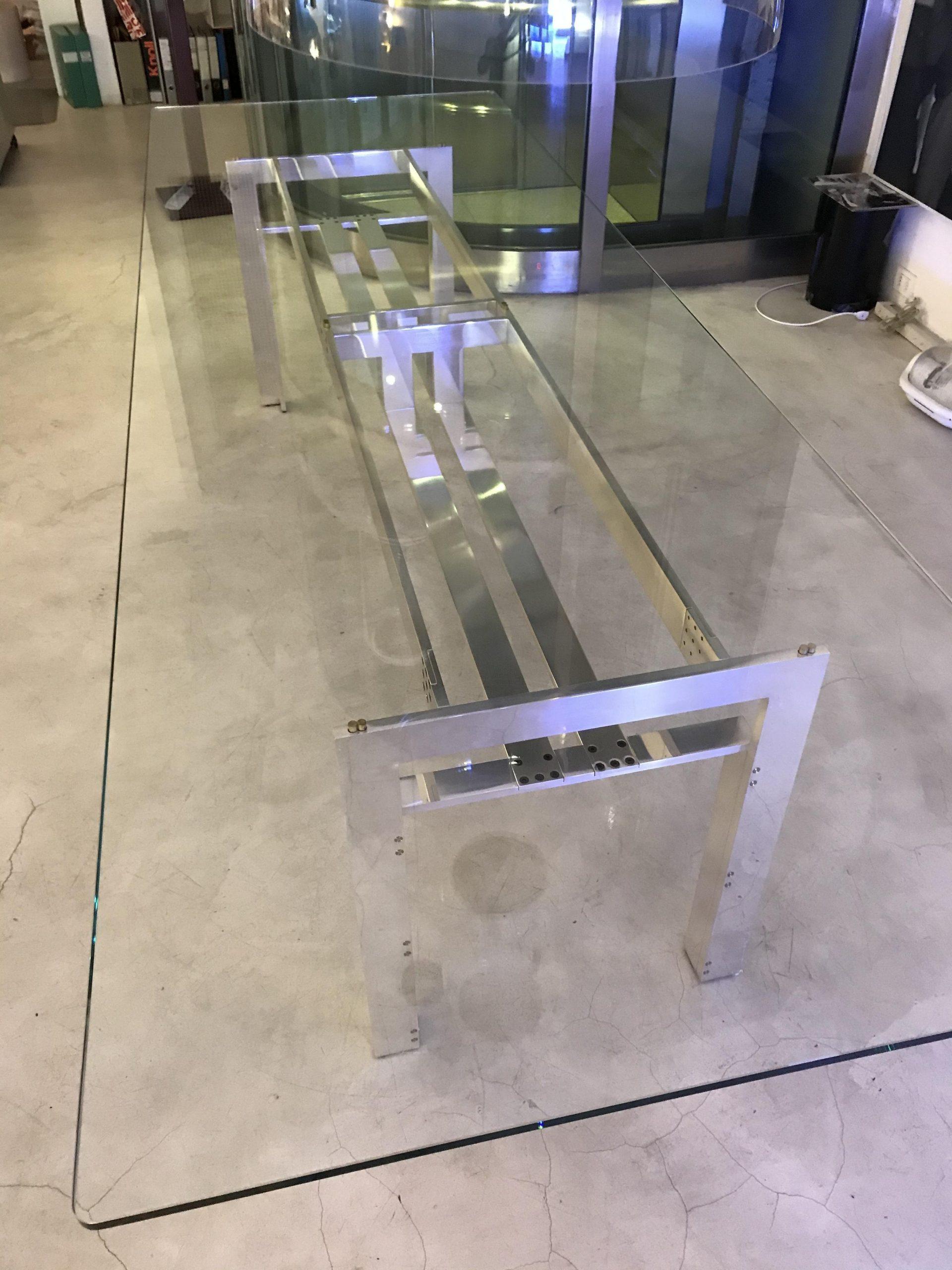 테이블 Carlo Scarpa 오리지널 디자인 이탈리아에서 만든 Doge Simon