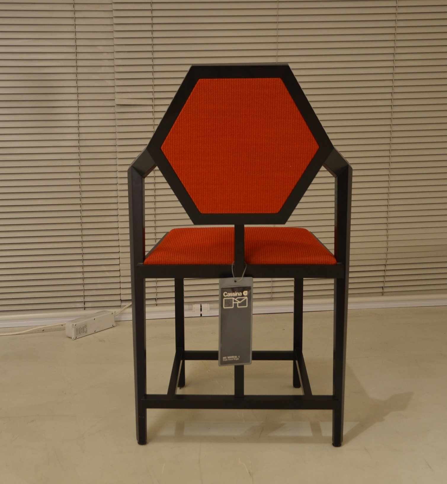 Frank Lloyd Wright Chair Cassina original design Made in Italy