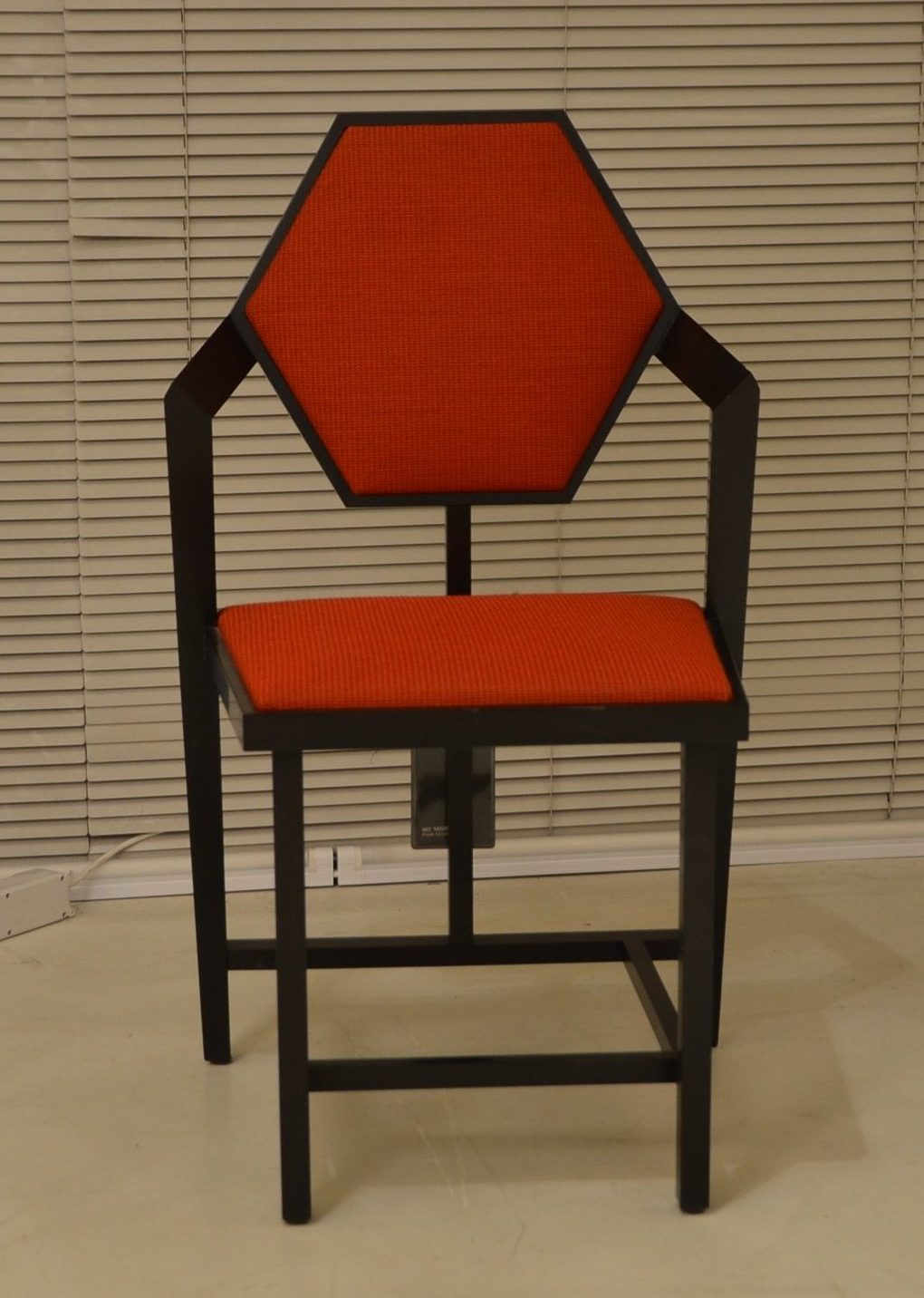 MIDWAY 1 Frank Lloyd Wright Cassina original chair design Made in Italy