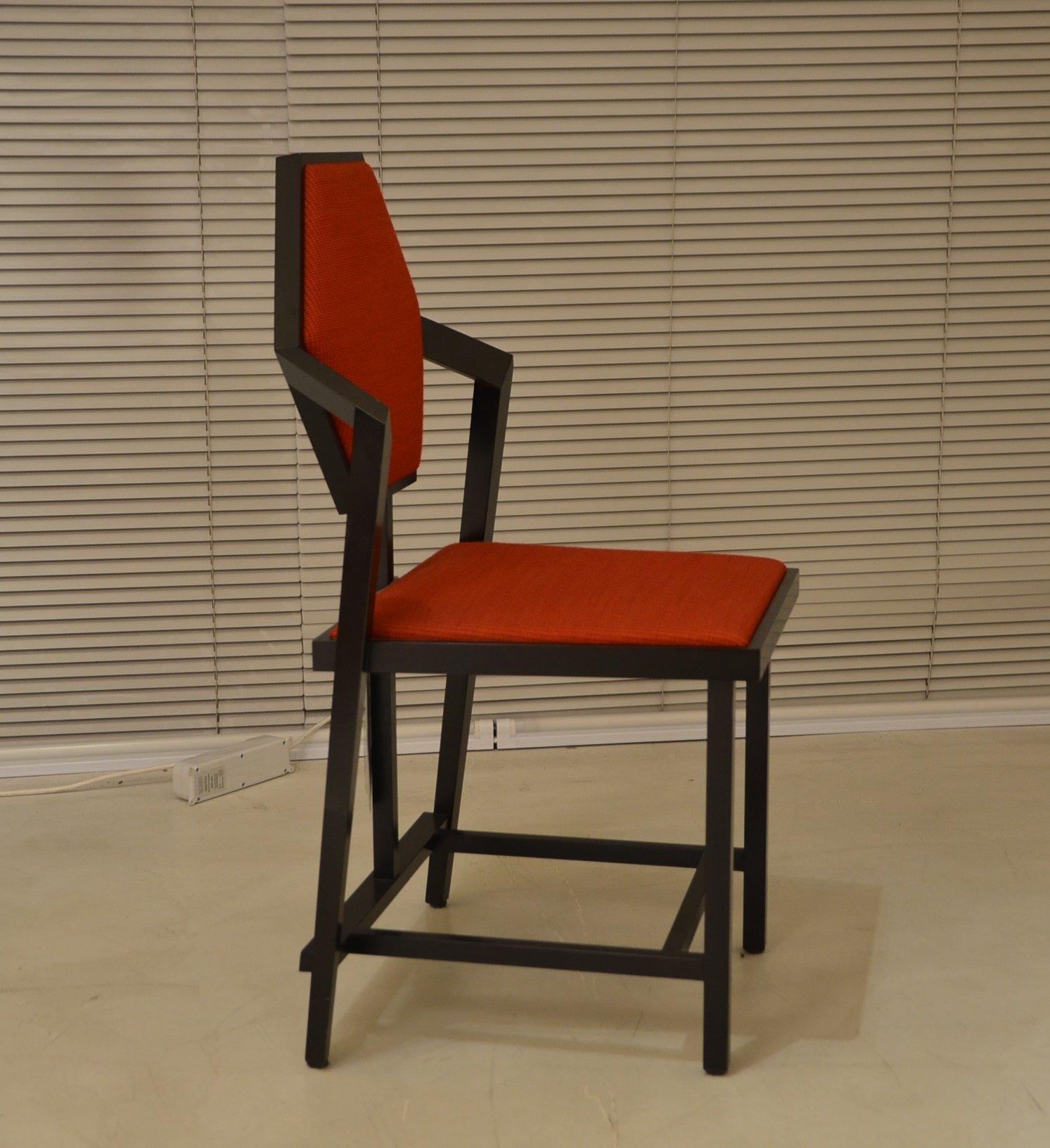 MIDWAY 1 Frank Lloyd Wright Cassina 오리지널 의자 디자인 이태리에서 만듦
