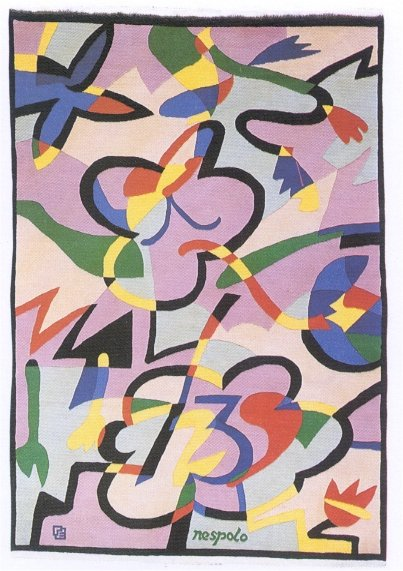 카펫 FLOWERS AND BUTTERFLY Ugo Nespolo Elio Palmisano original 이태리에서 만듦