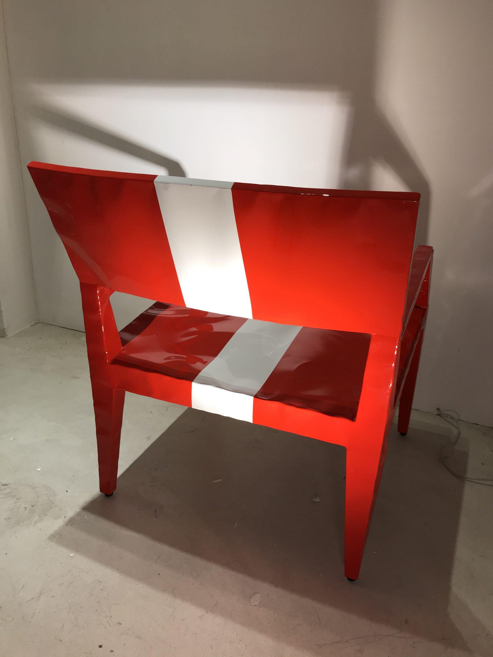 Sedia Mr. BUGATTI design Cappellini original Made in Italy