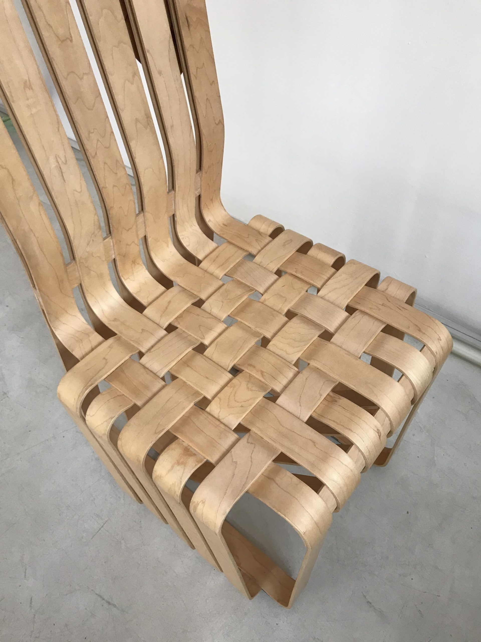 Frank Gehry Knoll High Sticking Chair