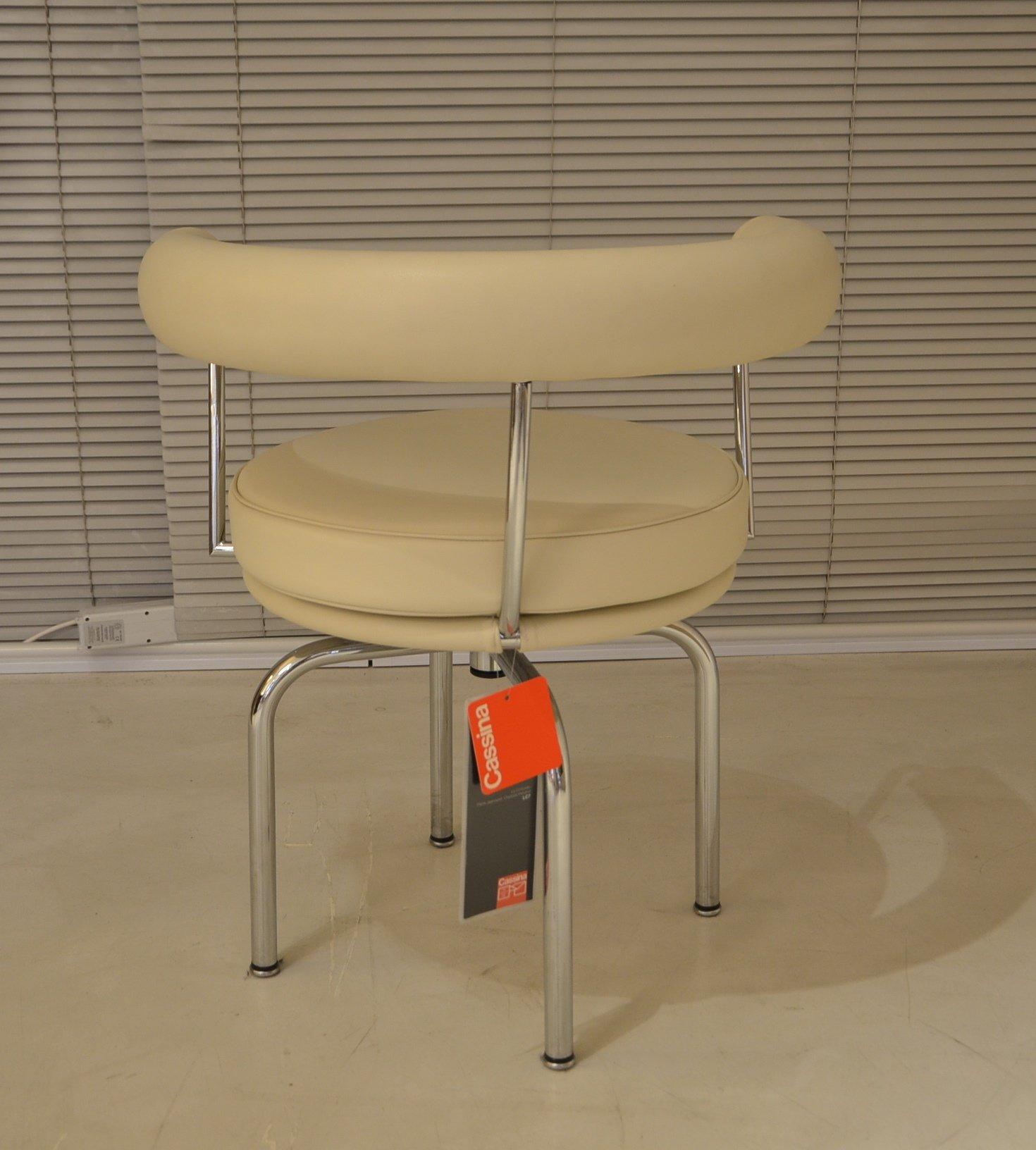 Cassina Le Corbusier original LC7 design Made in Italy