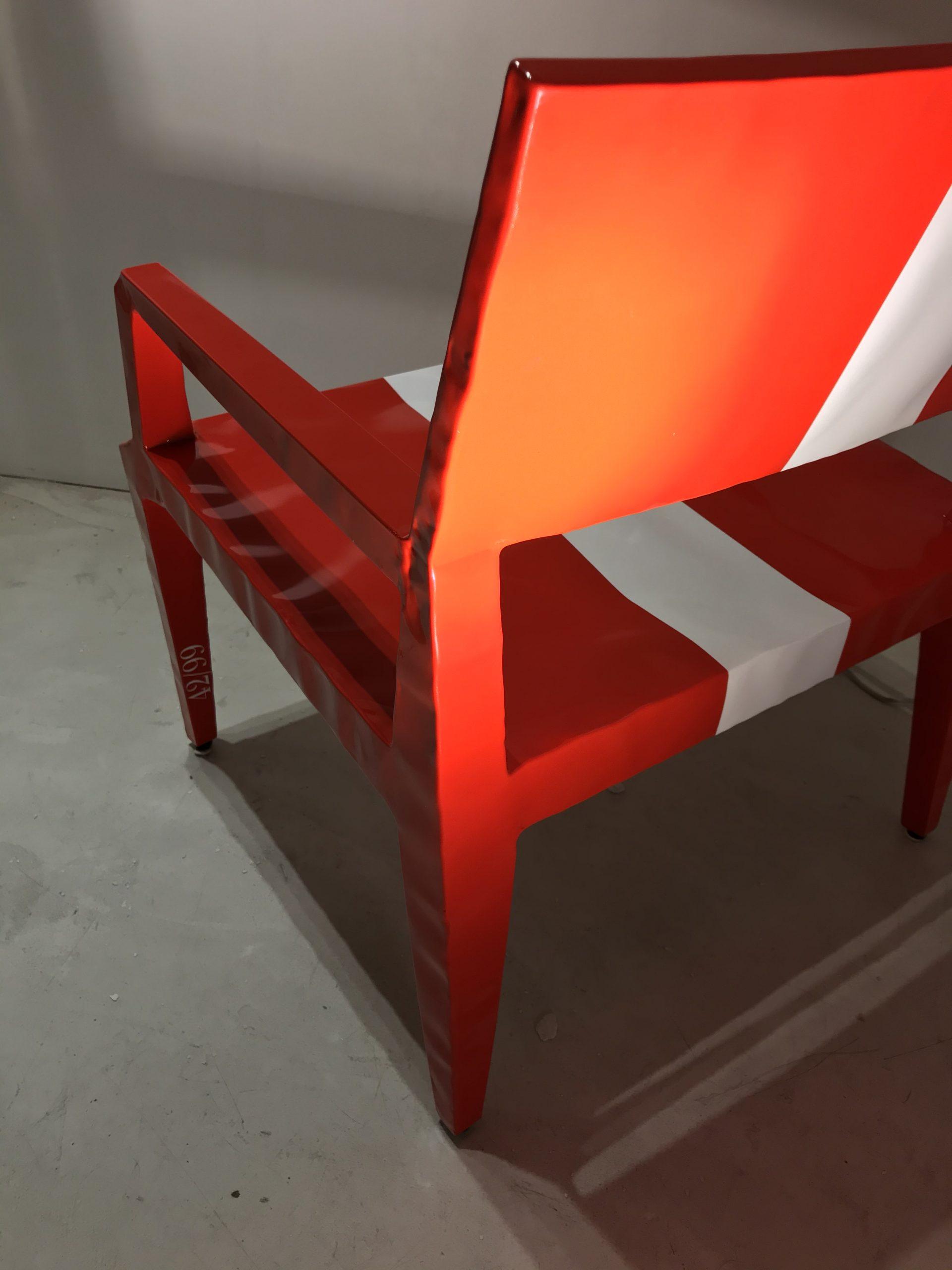 Limited edition Chair Mr. BUGATTI Cappellini original Made in Italy