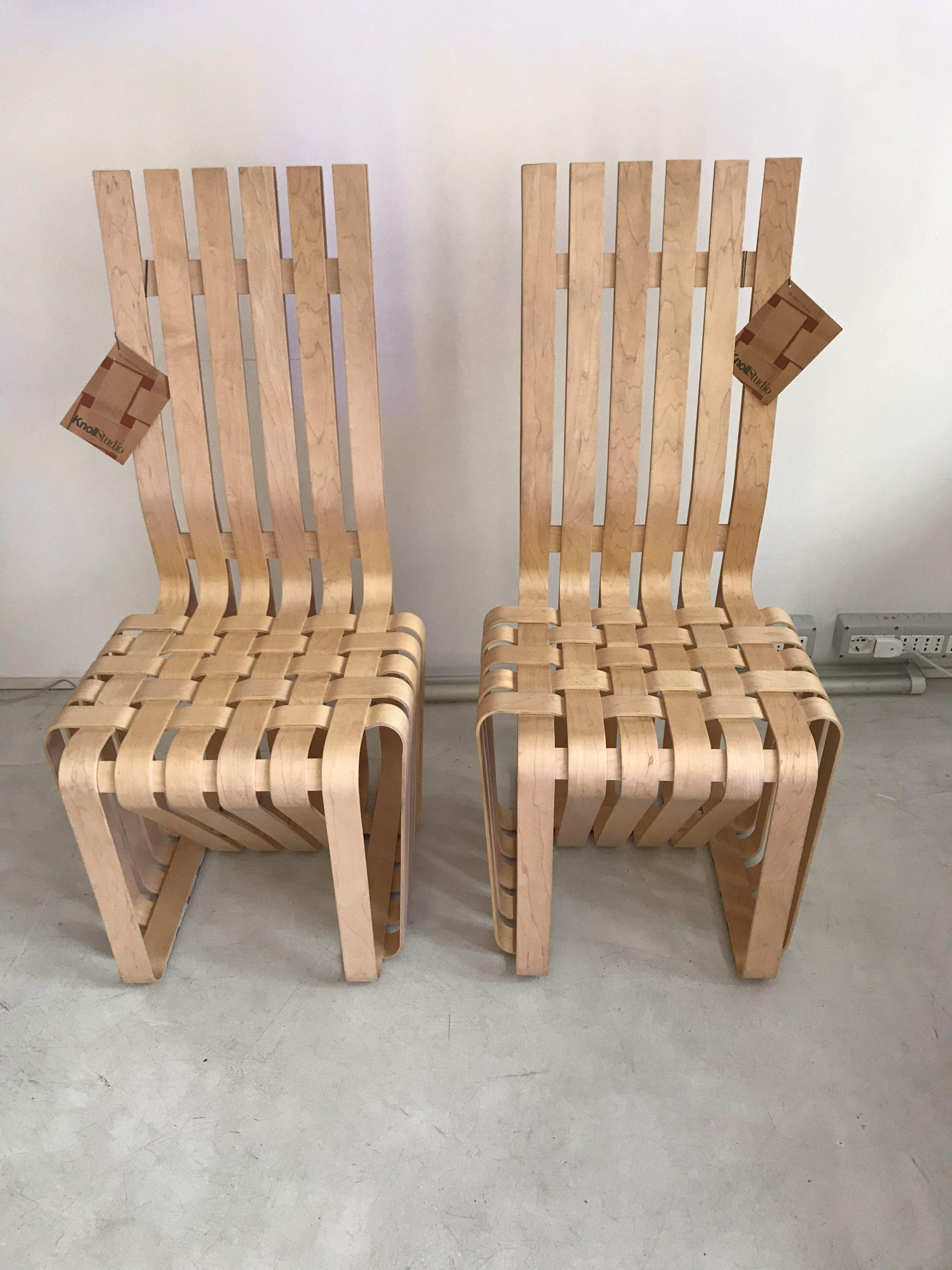 弗兰克·盖里·诺尔(Frank Gehry Knoll)高脚椅