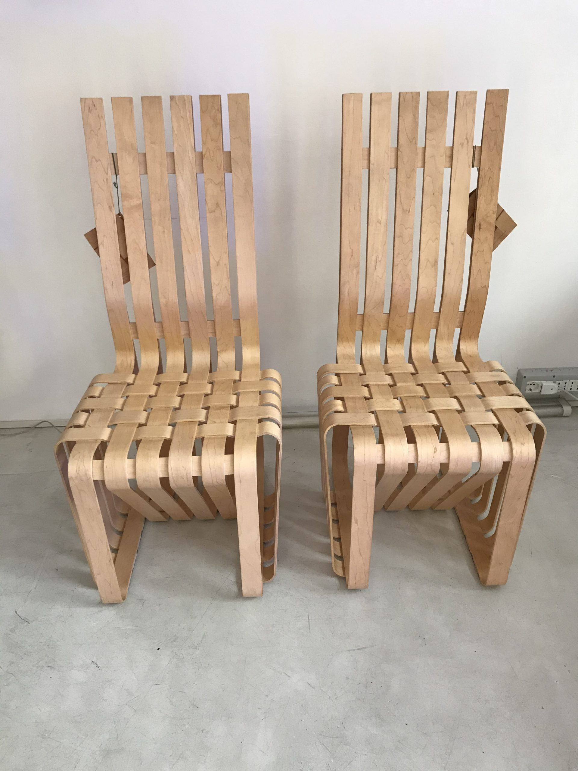 High Sticking Chair Frank Gehry Knoll