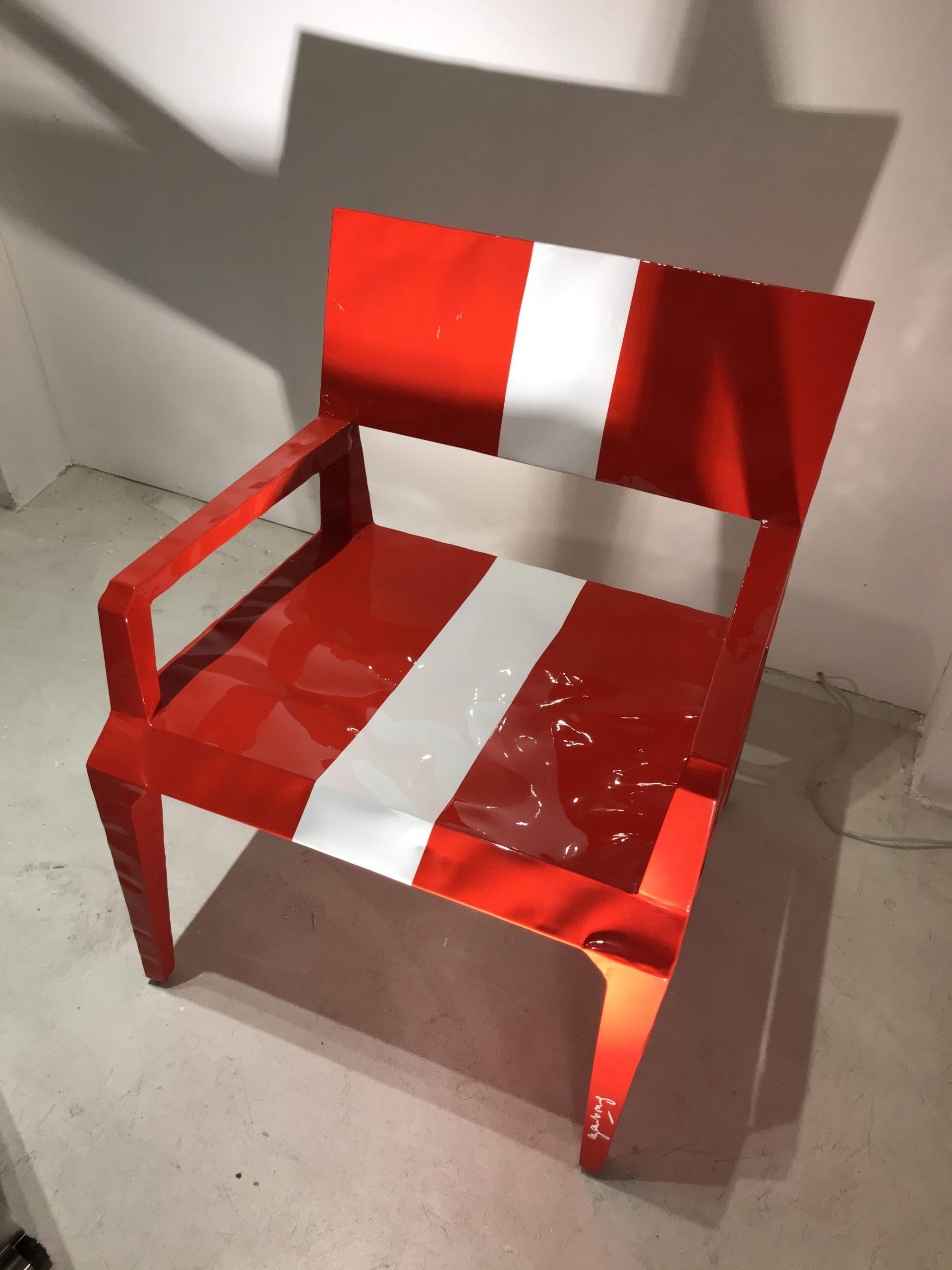 Chair Mr. BUGATTI Cappellini original Made in Italy